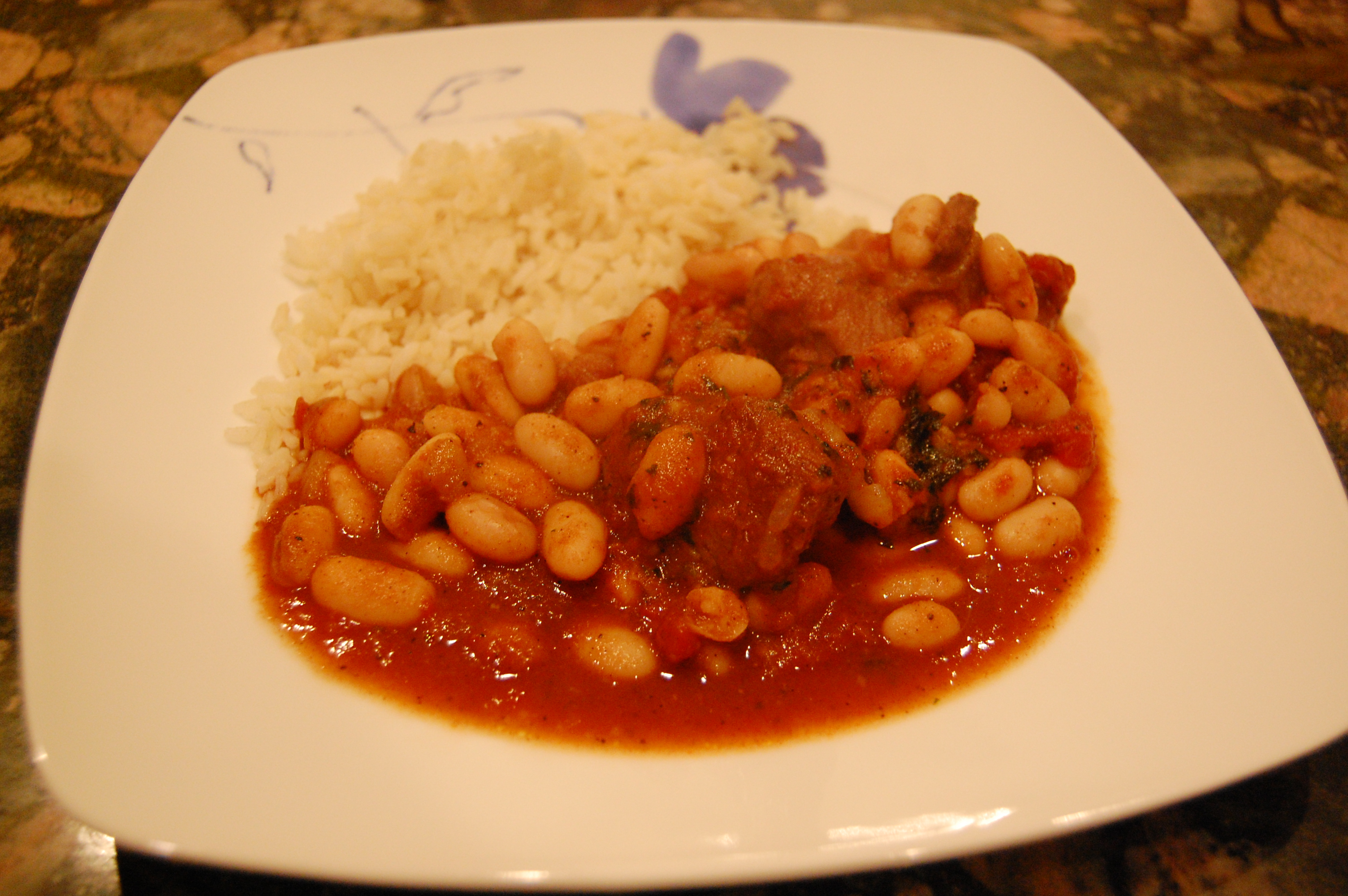 Middle Eastern Cuisine Recipe White Kidney Bean Stew Practical Nutrition